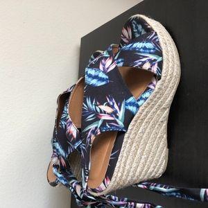 Flora Wedge Heels